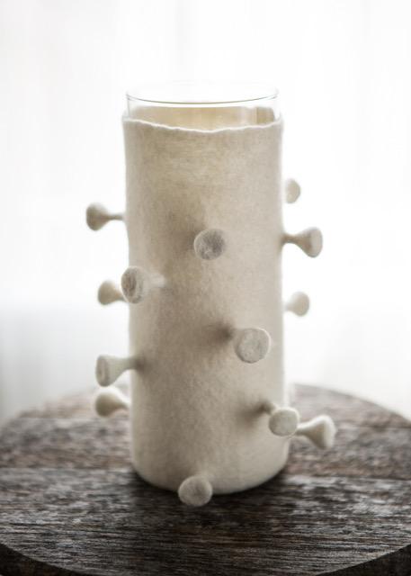 Felt Vase