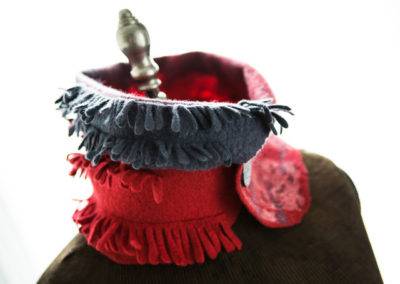 Frayed Collar